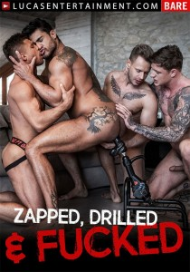 Zapped, Drilled & Fucked DVD (S)