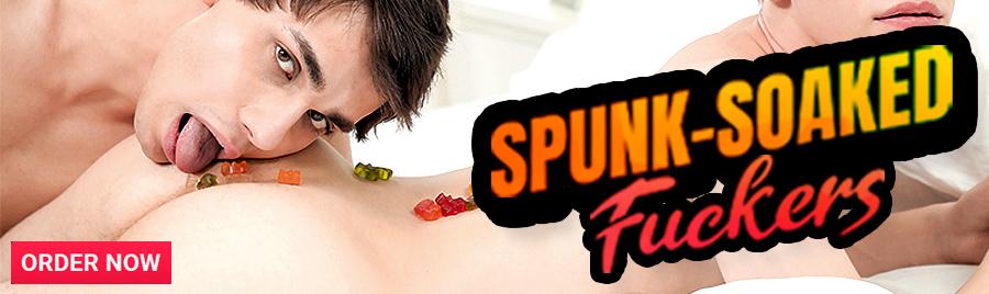 Spunk-Soaked Fuckers DVD!